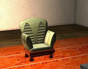 3D asset Pigeon towers chair