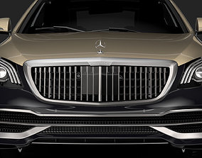 Mercedes Maybach S 560 X222 2019 3D