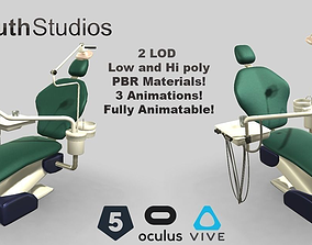 3D model Animated Dental Chair
