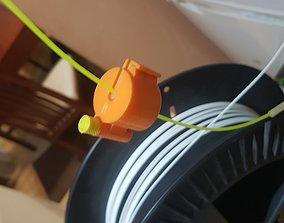 Universal filament filter 3D print model