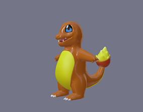 Pokemon charmander - 3D print model