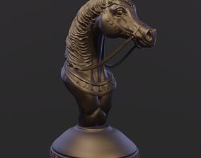 3D printable model Arabian horse torso