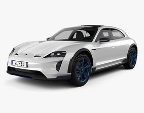 Porsche Mission E Cross Turismo 2018 3D