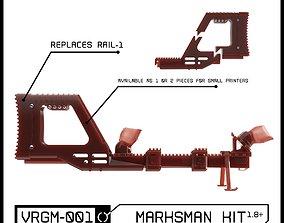 VRGM 001 Marksman Kit for Oculus Vive 3D printable model 1