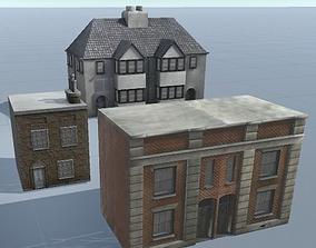 3D asset City Buildings Pack