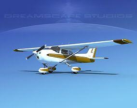 Cessna 172 Skyhawk 1976 V08 3D model