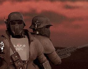 Desert Ranger Armor 3D model