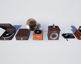 3D model Gramophones