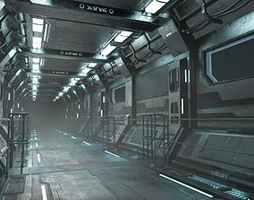 3D model Sci-Fi Modular Corridor Version1