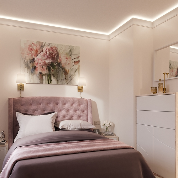 Tender bedroom