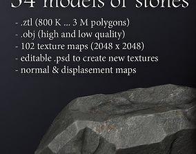 environment 34 high res Stones models