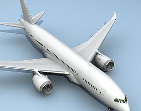 3D 787 Airplane