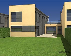 3D Attached House
