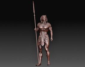 3D printable model Egyptian warrior
