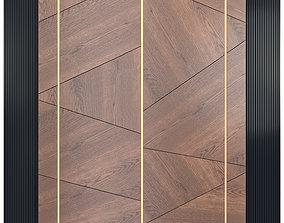 Decor wood Panel 22 3D