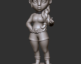 character 3D model Lara Croft