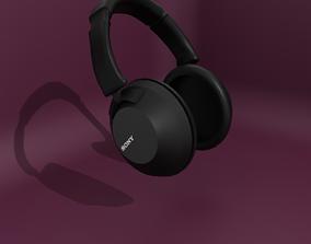 equipment HeadPhones 3D model low-poly