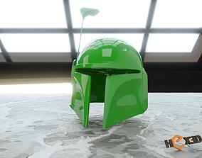 Boba Fett 3D Printable Helmet