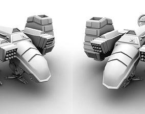 VTOL Concept - Fighter Plane 3D print model