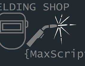 Welding Shop Maxscript 3D