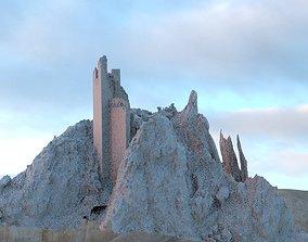 3D Spain Fort detail
