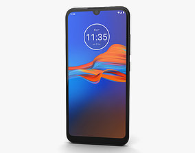 3D Motorola Moto E6 Plus Polished Graphite