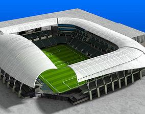 Banc of California Stadium 3D model