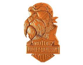 harley davidson dog CNC 3D print model