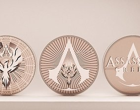Assassins Creed Coin 3D print model