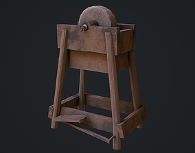 3D asset Grinding Wheel