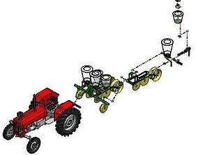 houseplant Tractor 3D