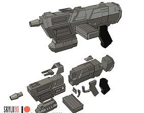 DC-17M Blaster Rifle 3D printable model