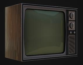 3D model Old 60s Tv