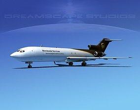 3D model Boeing 727-200 UPS 2