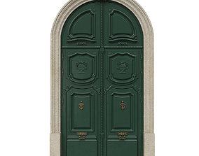 3D model Entrance classic door 42