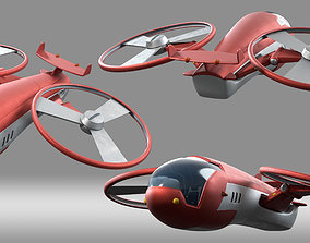 3D cartoon aircraft