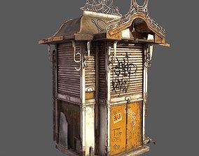 Abandoned Kiosk 3D