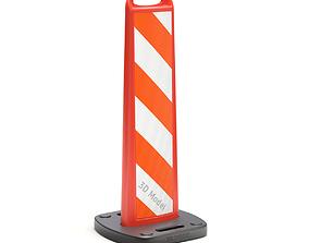Vertical Panel Channelizer 3D