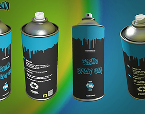 Spray Can - Graffiti 3D asset