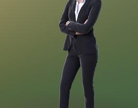 Ramona 10241 - Standing Business Woman 3D model