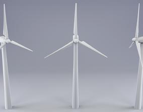 engine 3D model Wind Turbine