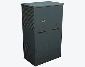 3D asset Electrical Box 1