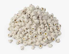 Pile of Popcorn 3D asset
