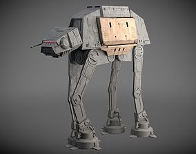 Star Wars AT-ACT Walker 3D rigged