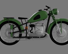 Motorcycle - URAL 3D asset