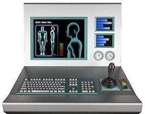 3D model Control Console