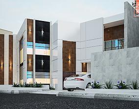 3D 3dsmax house exterior