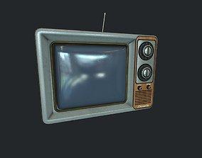 OldTV pbr 3D model