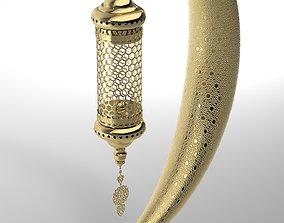 Ramadan Month Lantern 3D