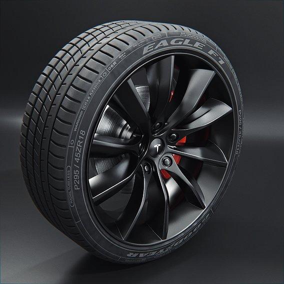 Tesla Model X Tyre